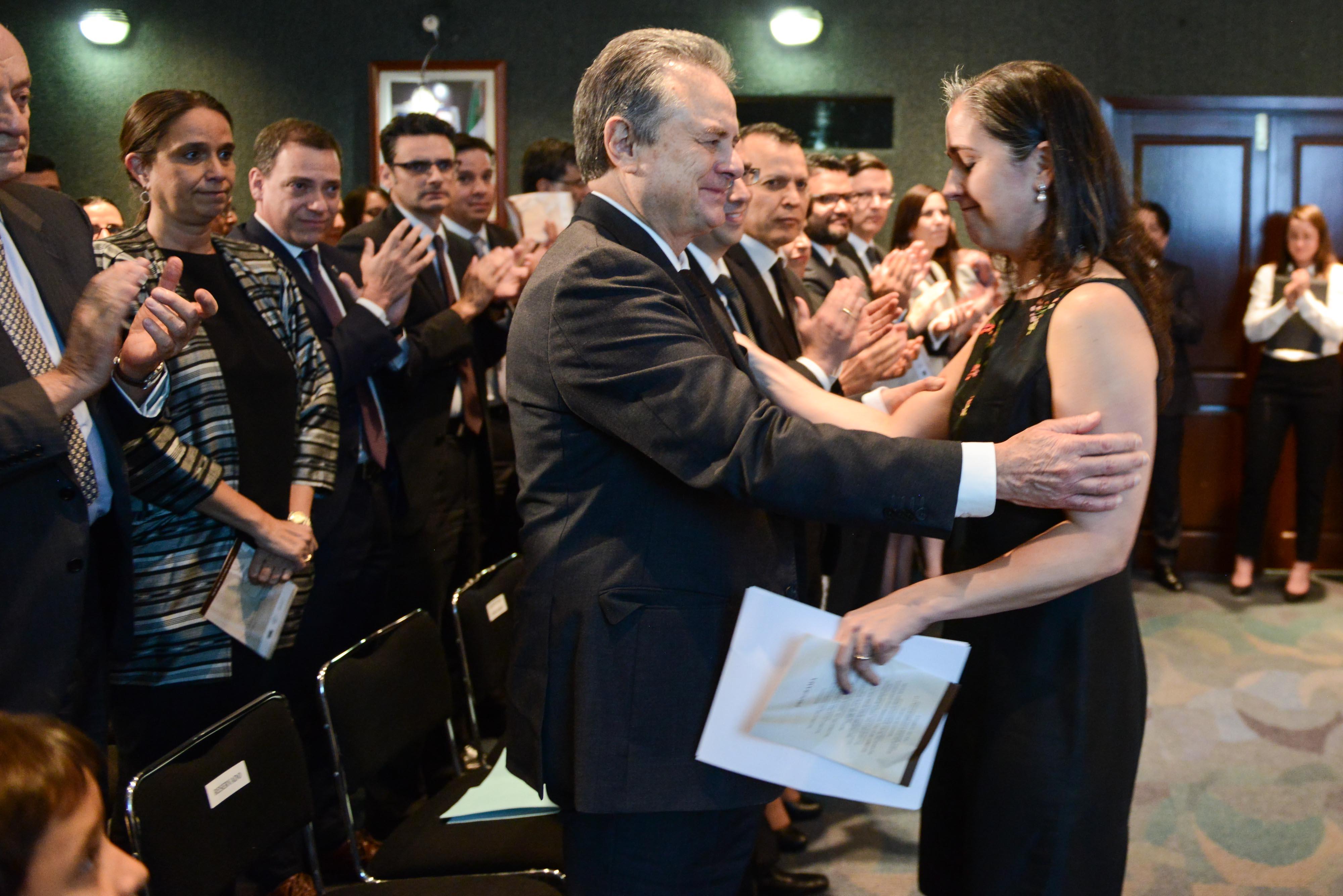 Homenaje a la memoria de Edgar Rangel, Comisionado de la CNH