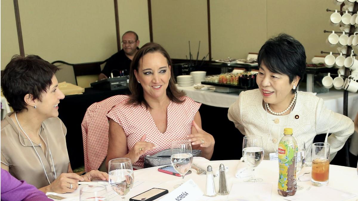 Ruiz Massieu participó en la mesa Redefiniendo el Liderazgo con Mujeres Líderes del Foro Económico Mundial para Latinoamérica