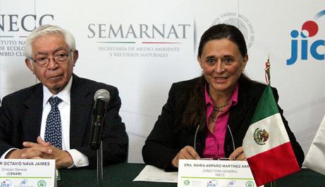 Firma de convenio INECC y CENAM.