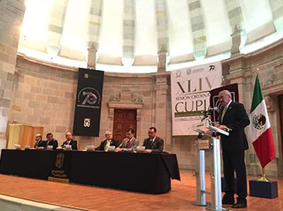 XLIV Sesión Ordinaria del Consejo de Universidades Públicas e Instituciones Afines.