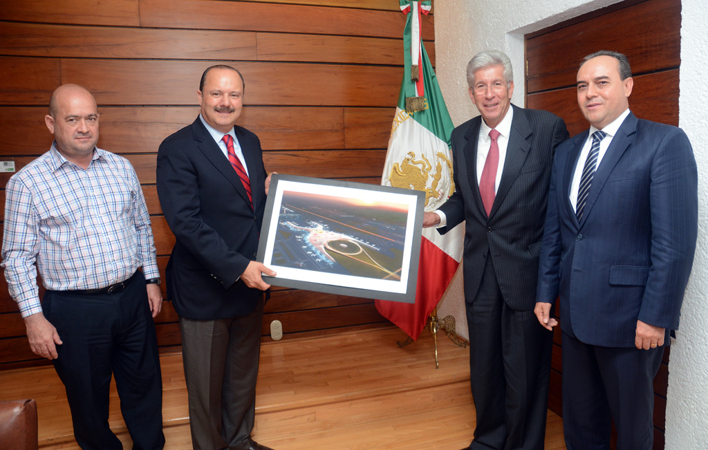 Se reúne Ruiz Esparza con el gobernador de Chihuahua