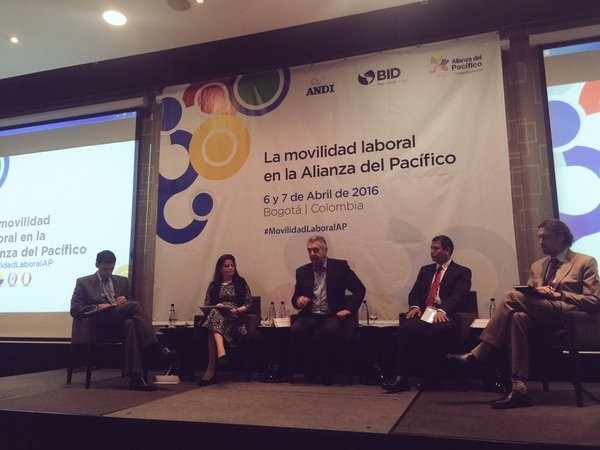 """Participa Subsecretaria de Empleo y Productividad Laboral,  en el Taller """"La Movilidad Laboral en la Alianza del Pacífico""""."""