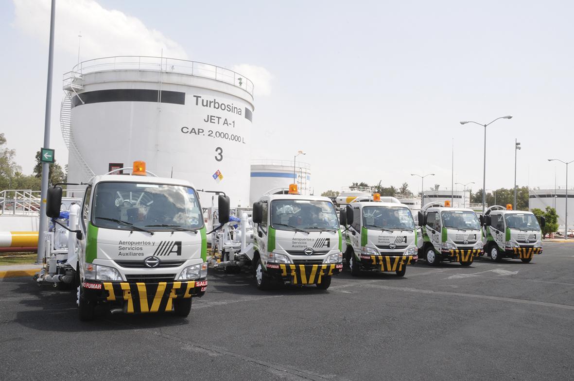 Renueva ASA parque vehicular de uso industrial