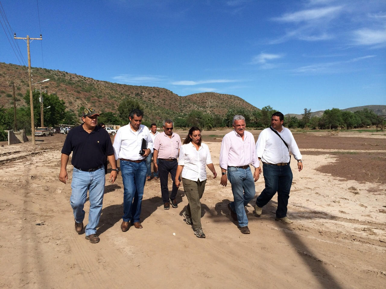 Ruiz Massieu realiza gira de trabajo por municipios de Baja California Sur.