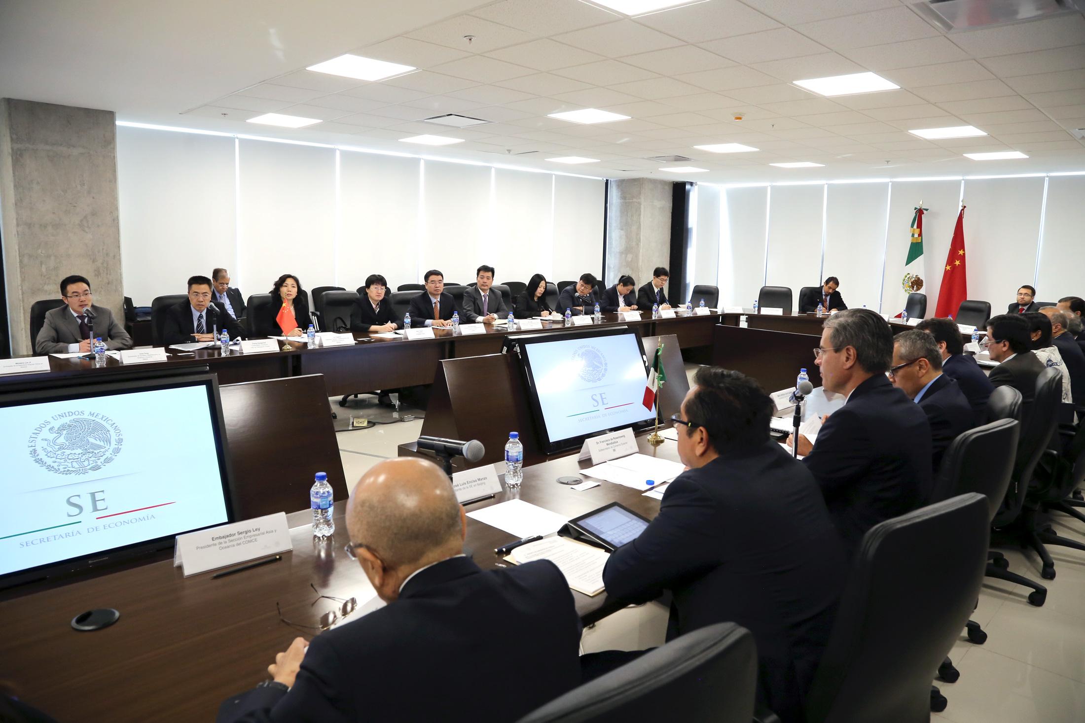 México y China llevaron a cabo los trabajos de la VII Reunión del Grupo de Alto Nivel (GAN) México-China