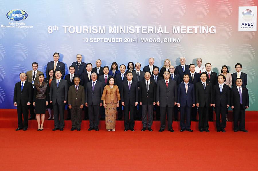 Octava Reunión Ministerial de Turismo en Macao, China.