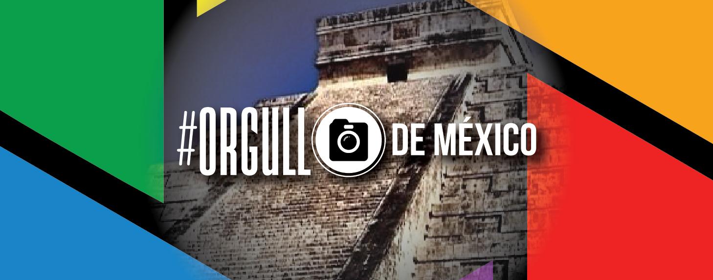 Logotipo #OrgulloDeMéxico.