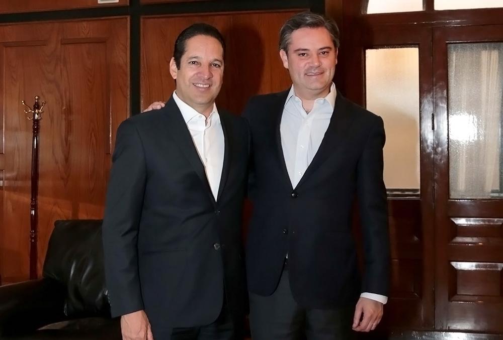 Gobernador de Querétaro y secretario de Educación Pública evalúan implementación de la Reforma Educativa en ese estado