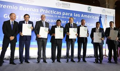 Reconoce Asociación Internacional de Seguridad Social al ISSSTE por buenas prácticas