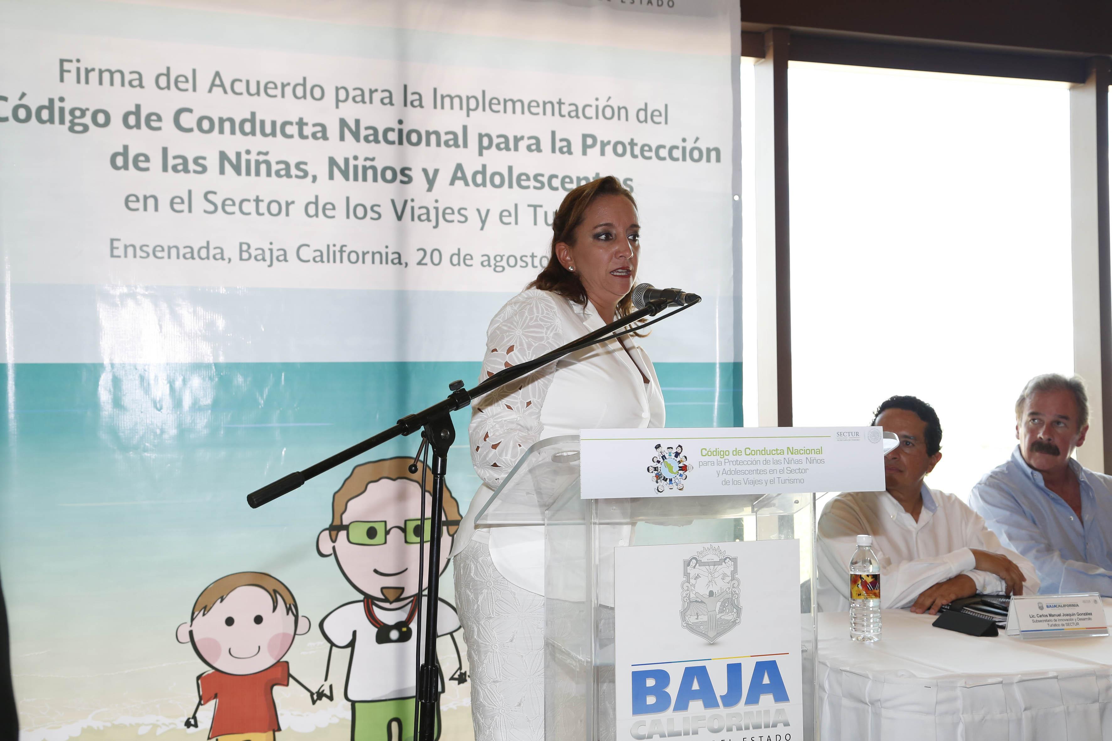 La Secretaria de Turismo efectúa una gira de trabajo por Ensenada.