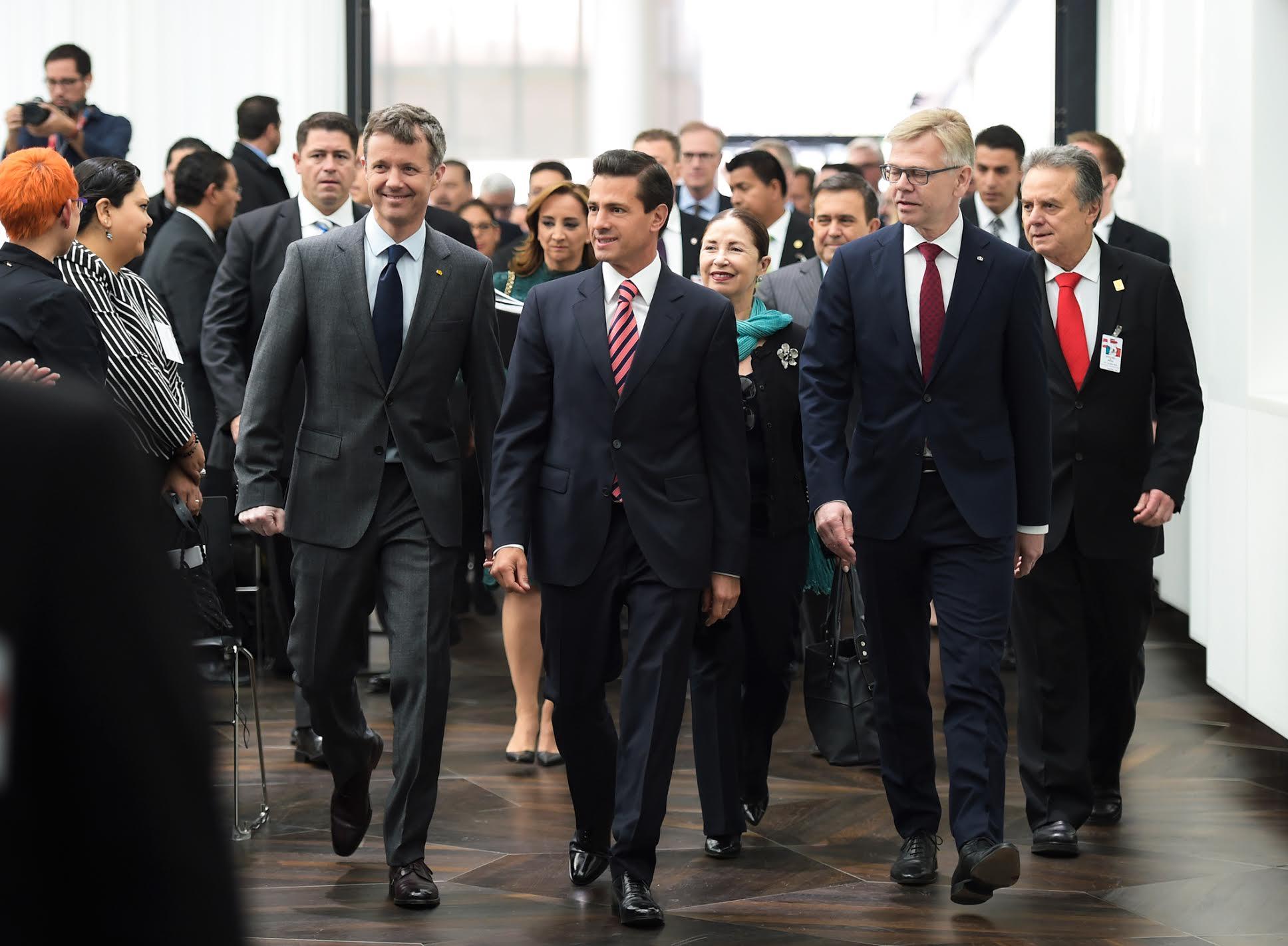 """""""Nosotros, la comunidad empresarial danesa, haremos lo posible para afianzar nuestra relación comercial con México"""", Karsten Dybvad."""
