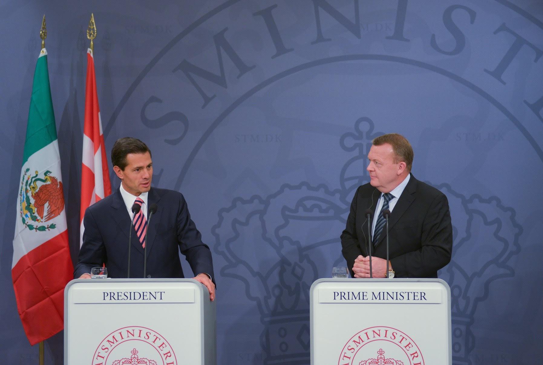 El Presidente Enrique Peña Nieto resaltó que en materia económica, empresas danesas han manifestado interés en invertir en México en diferentes campos.