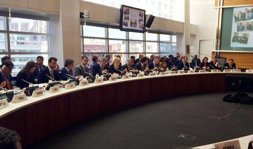 La Colación de Liderazgo sobre el Precio al Carbono reúne ministros de medio ambiente y finanzas de 20 países