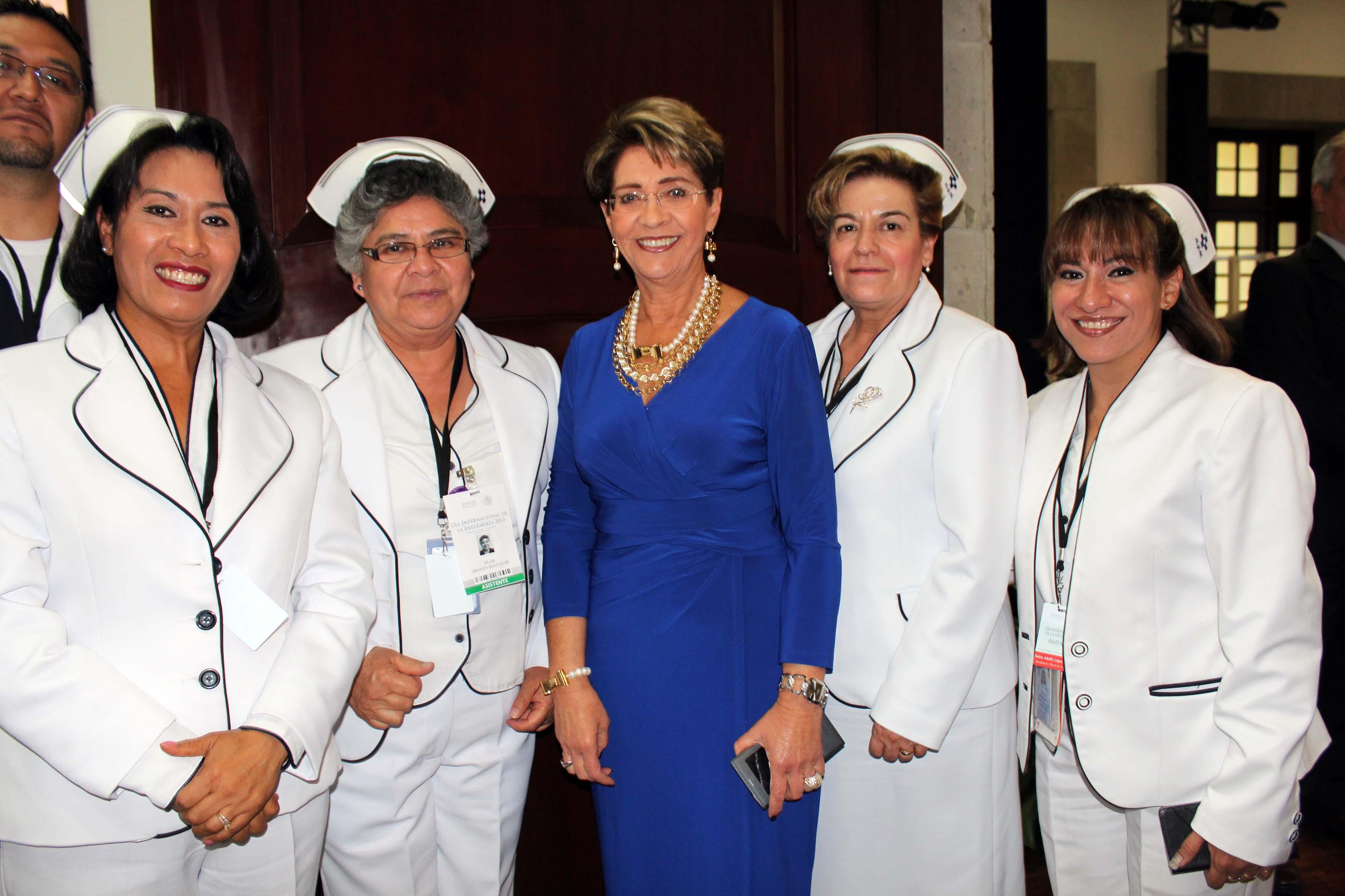 Conmemoración del Día Internacional de la Enfermería 2015.