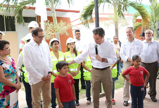 Intervención del secretario de Educación Pública, Aurelio Nuño Mayer