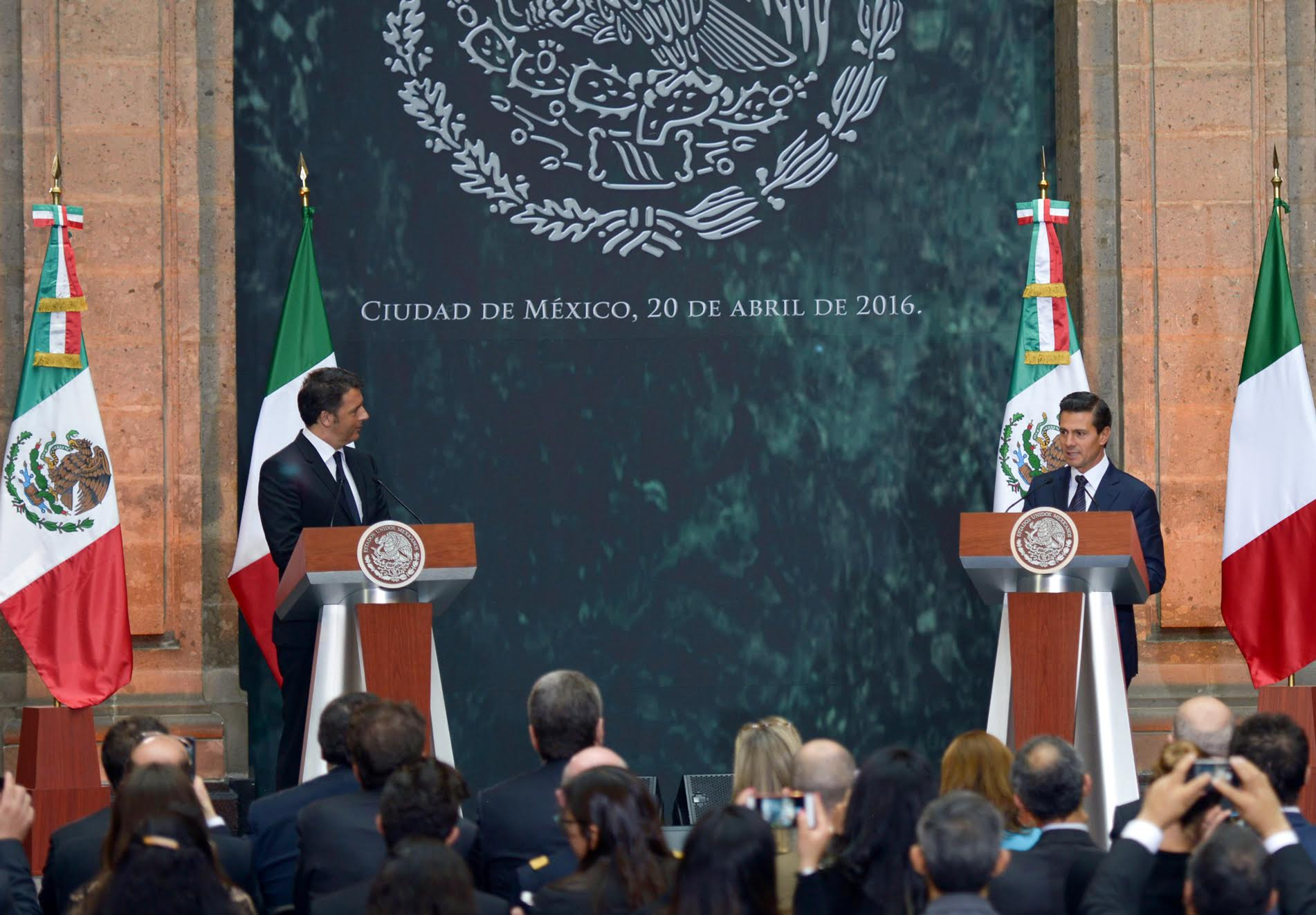 Italy is Mexico's third largest trading partner in the European Union.