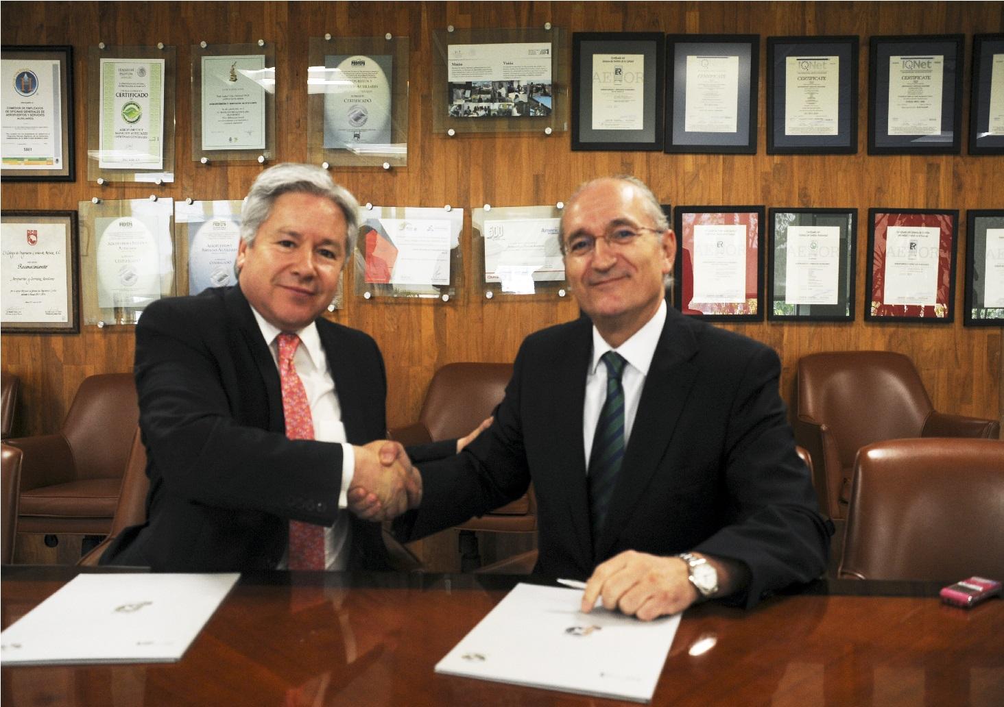 Renuevan ASA y SENASA convenio sobre transporte aéreo, seguridad y sostenibilidad