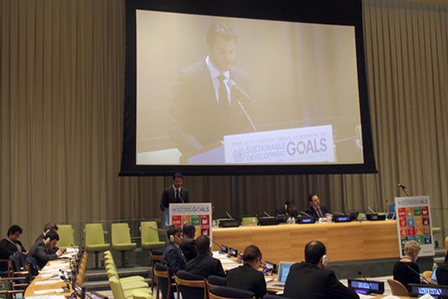 Gira del Secretario de Medio Ambiente y Recursos Naturales Rafael Pacchiano Alamán por Nueva York
