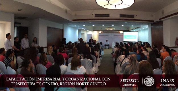 Capacitación Empresarial y Organizacional con Perspectiva de Género en Coahuila