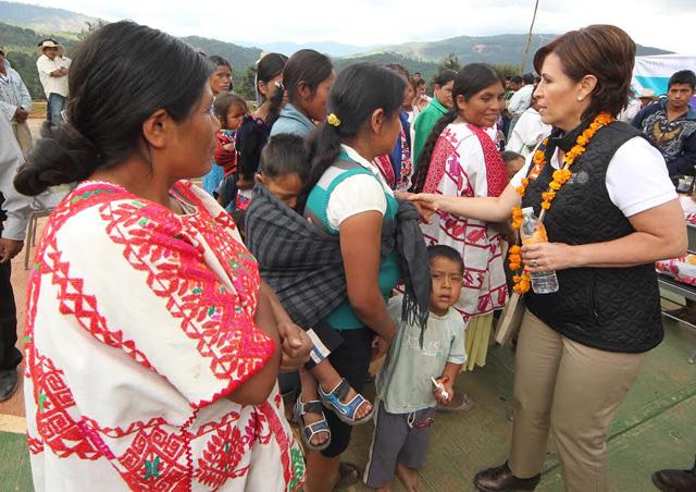 Se conmemora en el corazón de la montaña guerrerense el Día Internacional de la Eliminación de la Violencia contra la Mujer