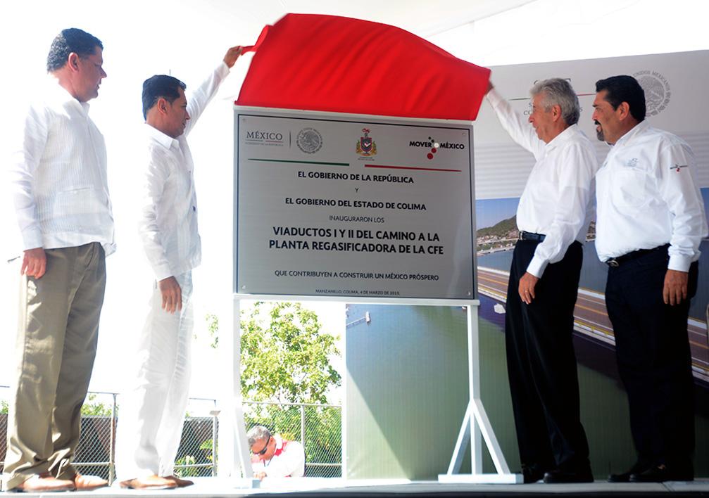 Las obras carreteras generan más empleos y mejoran la calidad de vida de los mexicanos: GRE