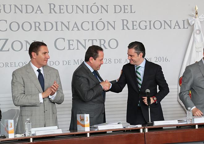 Pone en marcha Segunda Reunión del Grupo de Coordinación Regional Zona Centro
