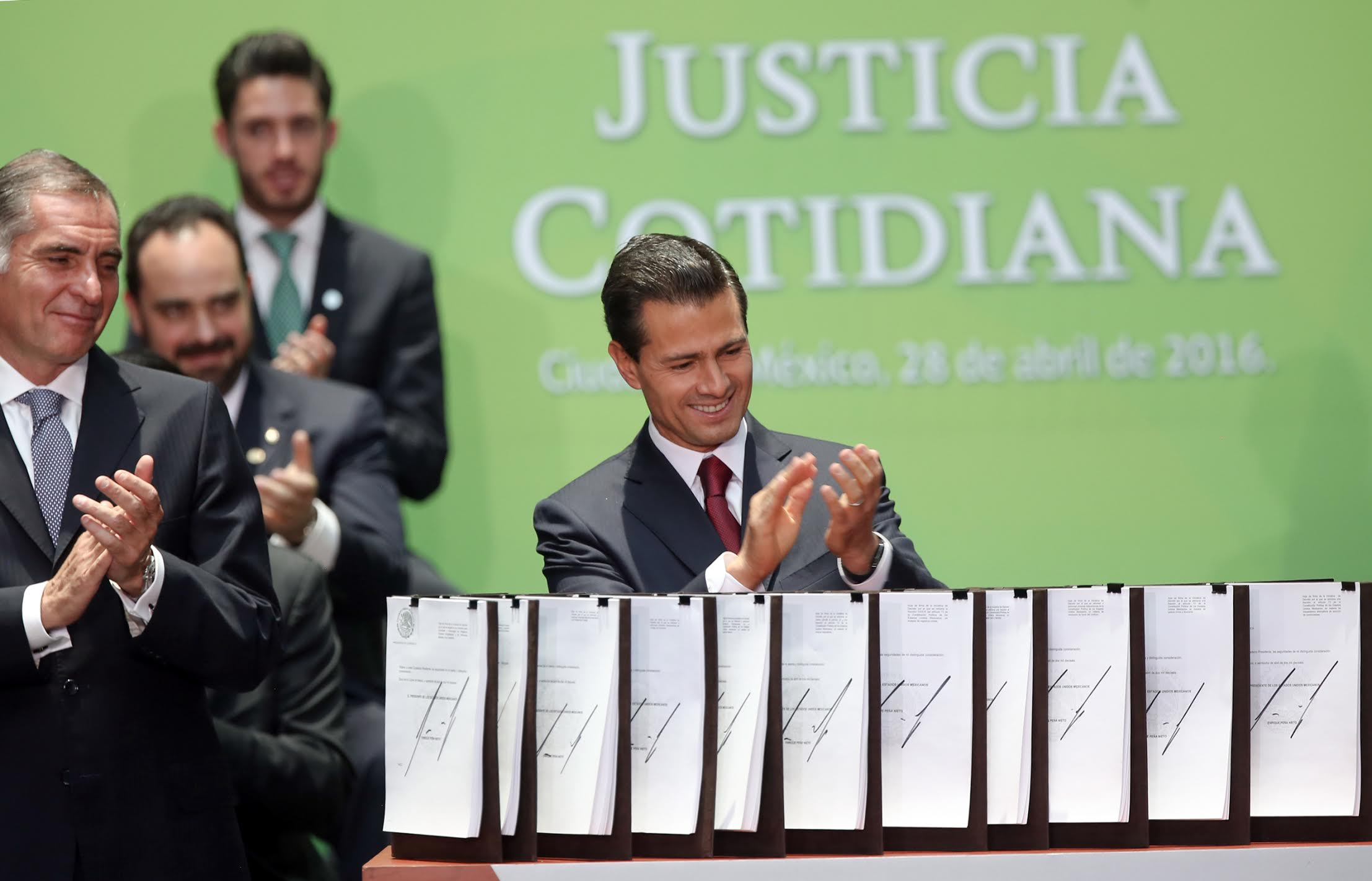 The reforms are the result of the Dialogs for Everyday Justice organized by the government, the Center for Economic Research and Teaching (CIDE), and the UNAM Institute for Legal Research.