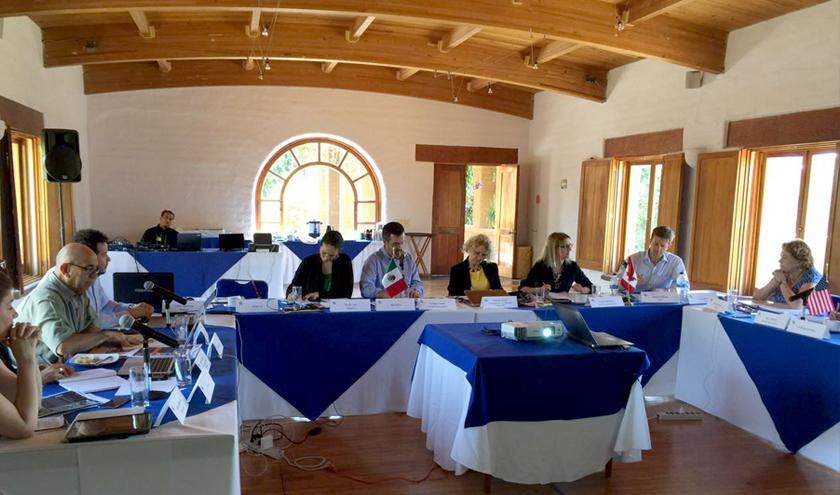 Reunión de integrantes de la CCA