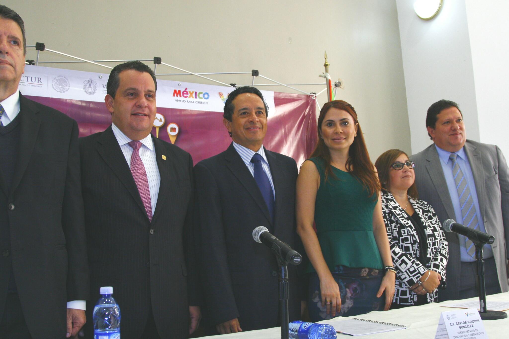El Subsecretario de Innovación y Desarrollo Turístico, Carlos Joaquín González en el  XIII Encuentro de la Red Nacional de Turismo para Todos.