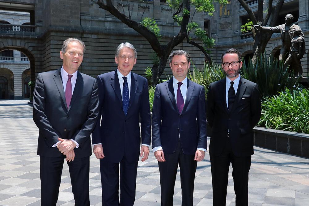 Se refirieron al Año Dual México-Reino Unido 2015, creado para promover un mejor entendimiento entre los gobiernos de los dos países