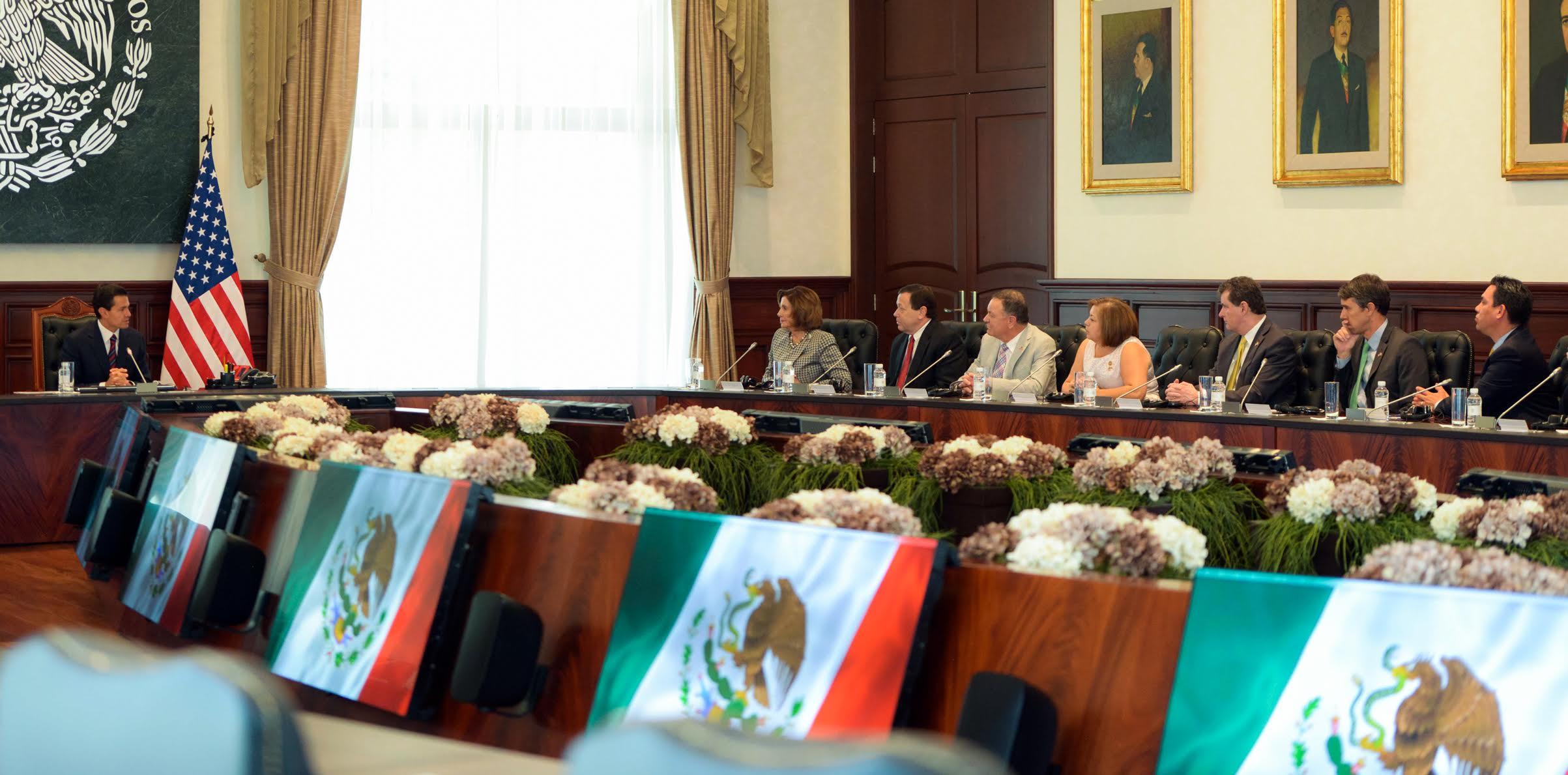El Presidente de la República y los congresistas destacaron la gran relación comercial bilateral y el potencial que tiene con el TPP.