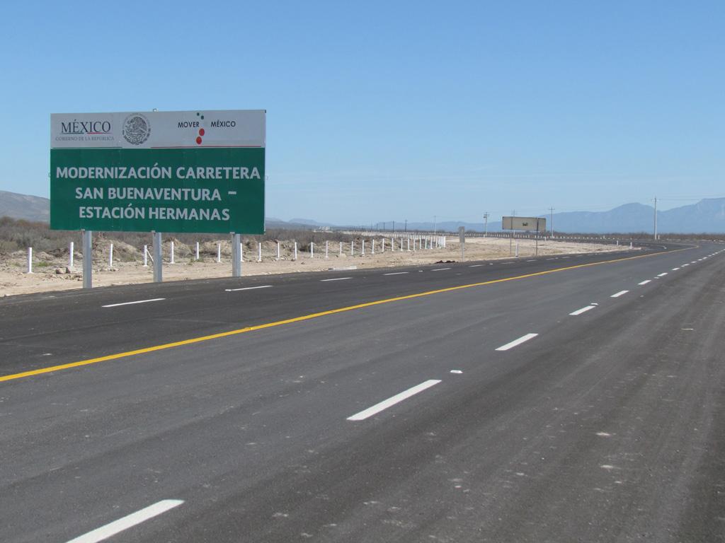 Resuelve SCT saturación vial con tres obras en Coahuila