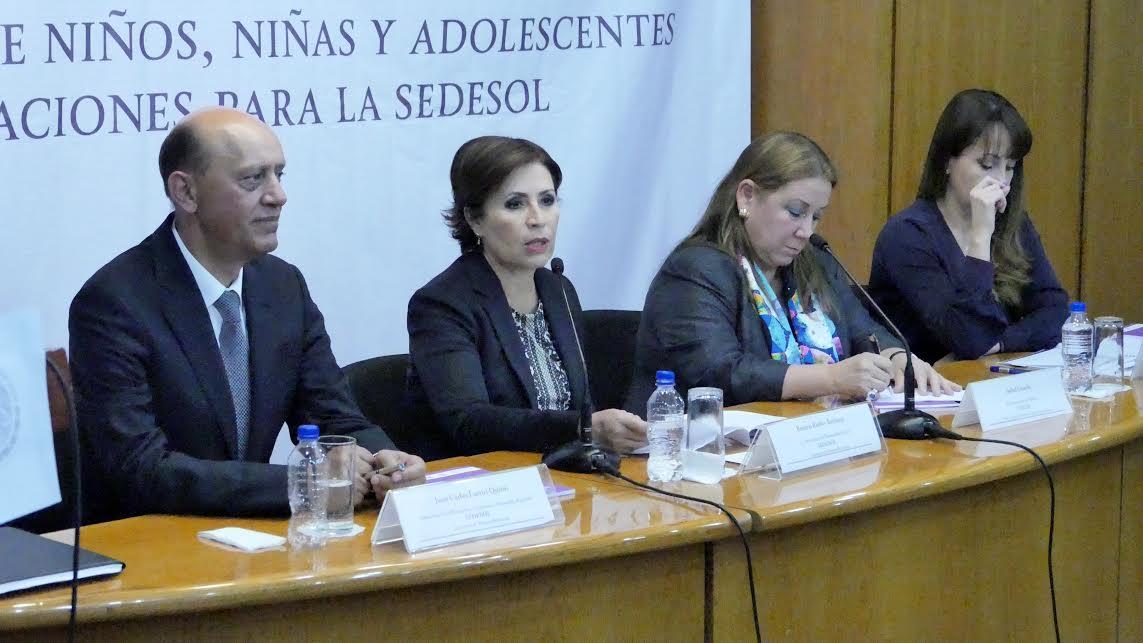 Firman Sedesol y Unicef plan de trabajo 2015-2016 para garantizar los derechos de la niñez y adolescencia