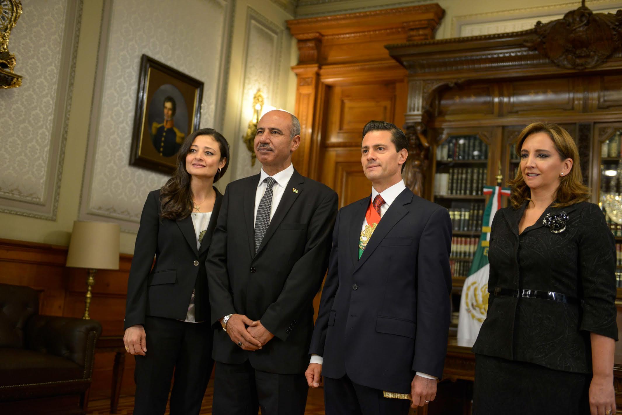 Los nuevos Embajadores iniciaron así sus actividades oficiales como representantes de sus naciones en México.