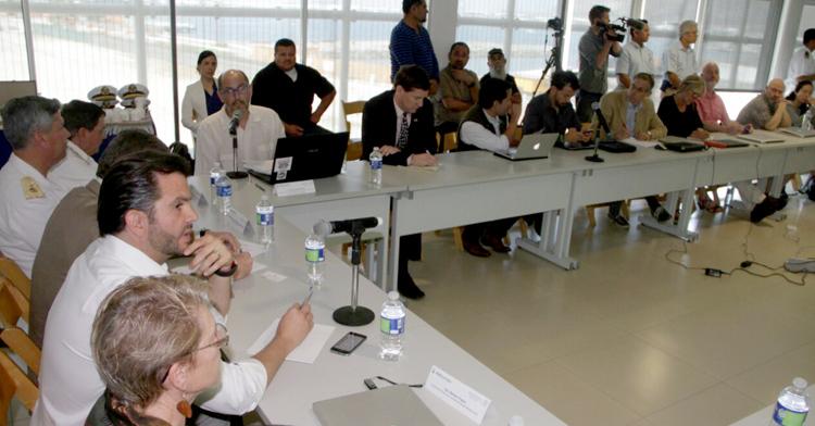 Autoridades federales se reúnen con integrantes del CIRVA en BC.