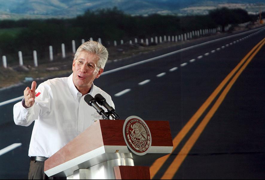 Gerardo Ruiz Esparza, Secretario de Comunicaciones y Transportes