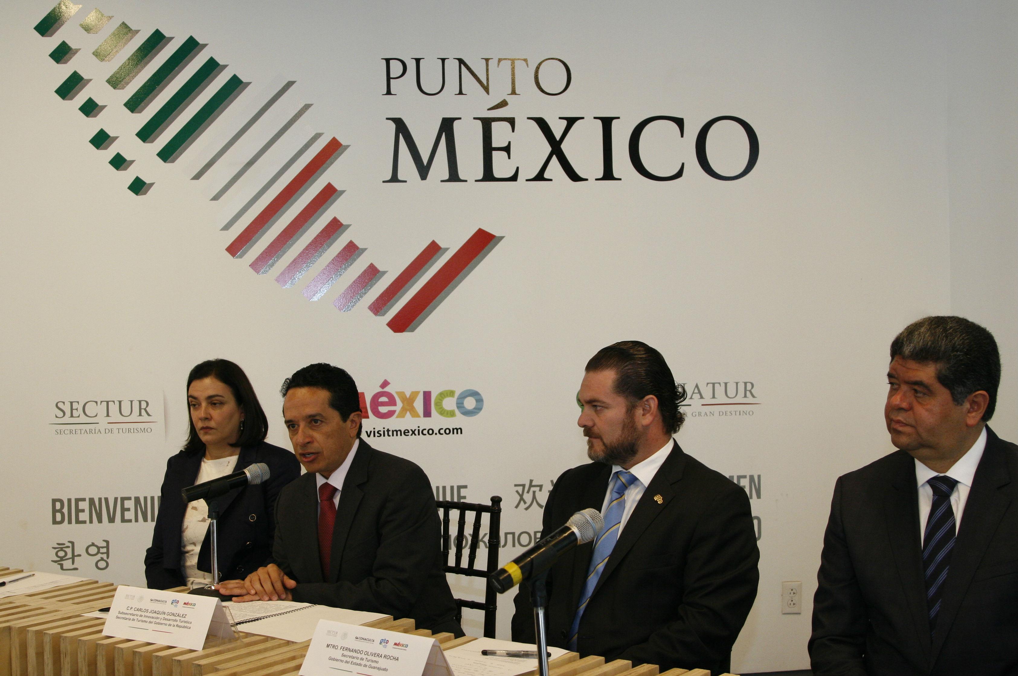 El Subsecretario de Innovación y Desarrollo Turístico de la SECTUR, Carlos Joaquín González, encabeza la instalación del Comité Organizador de la Feria de Turismo Cultural México.