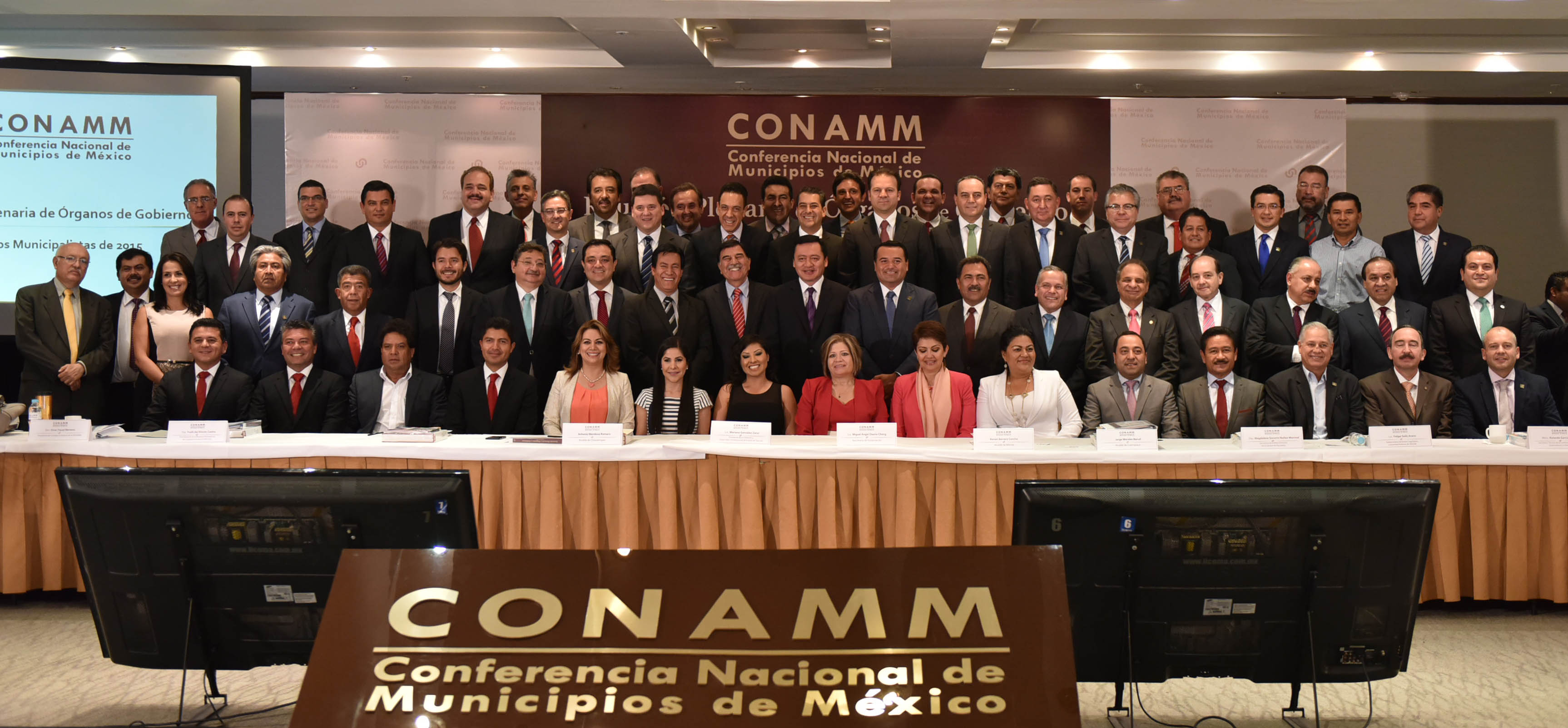 Miguel Ángel Osorio Chong, Secretario de Gobernación, al término de la Reunión Plenaria de Órganos de Gobierno de la Conferencia Nacional de Municipios de México