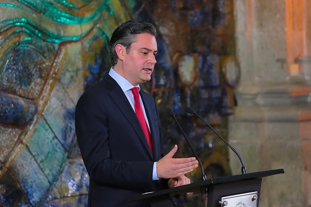 Conferencia de prensa del secretario de Educación Pública, Aurelio Nuño Mayer
