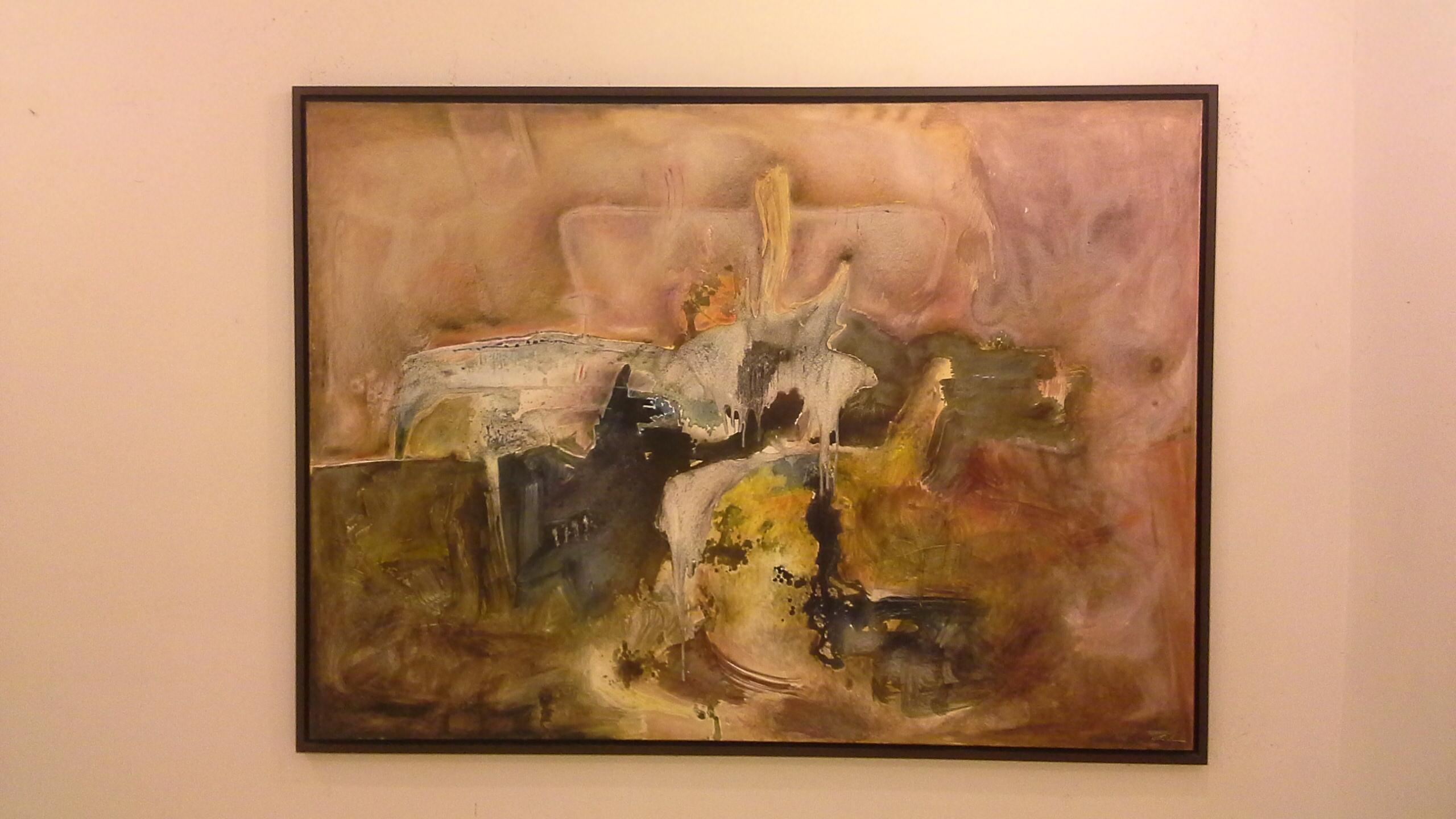 Realiz becario pecda obra abstracta y emotiva de gran - Cuadros gran formato ...