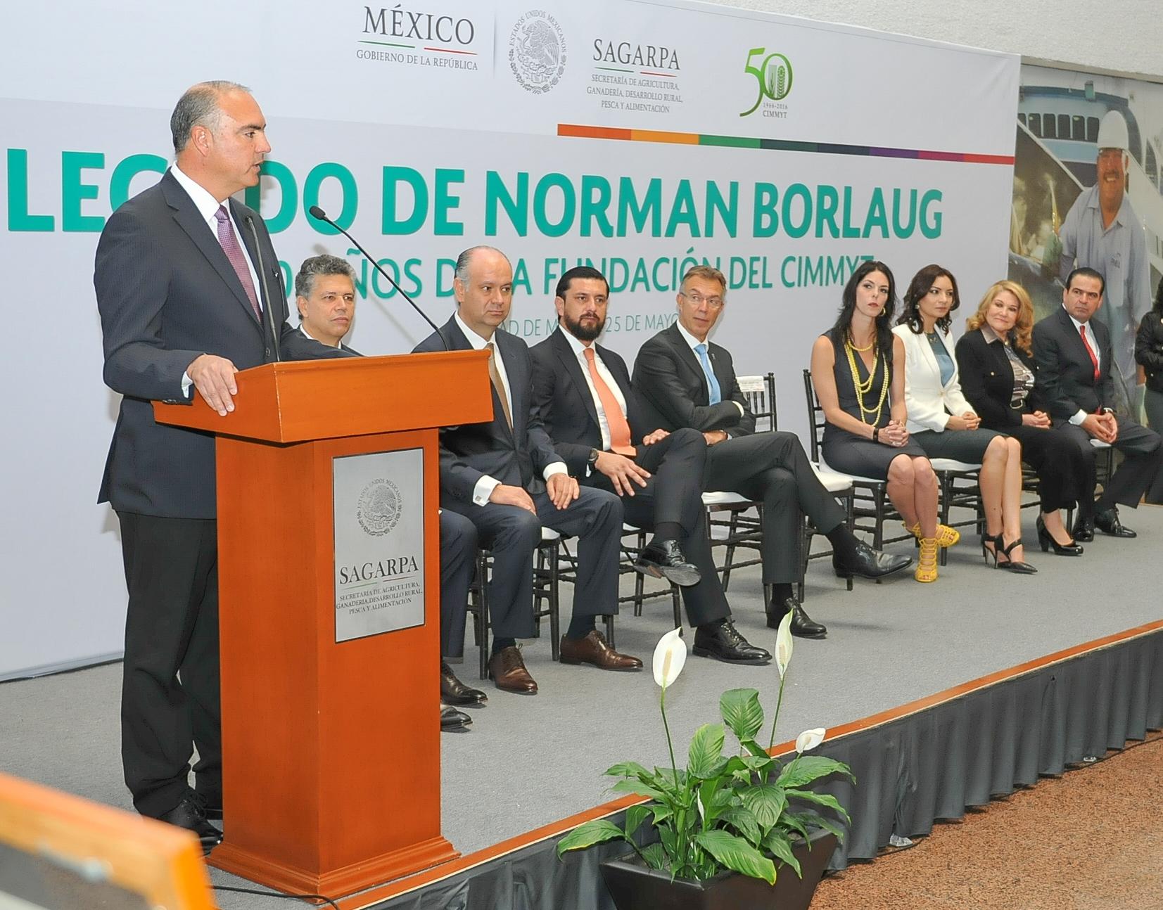 Presentan SAGARPA y CIMMYT más de 10 variedades mejoradas de trigo para regiones de México.