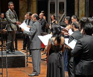 Ofreci La Cappella Barroca De M Xico Concierto En La Sala