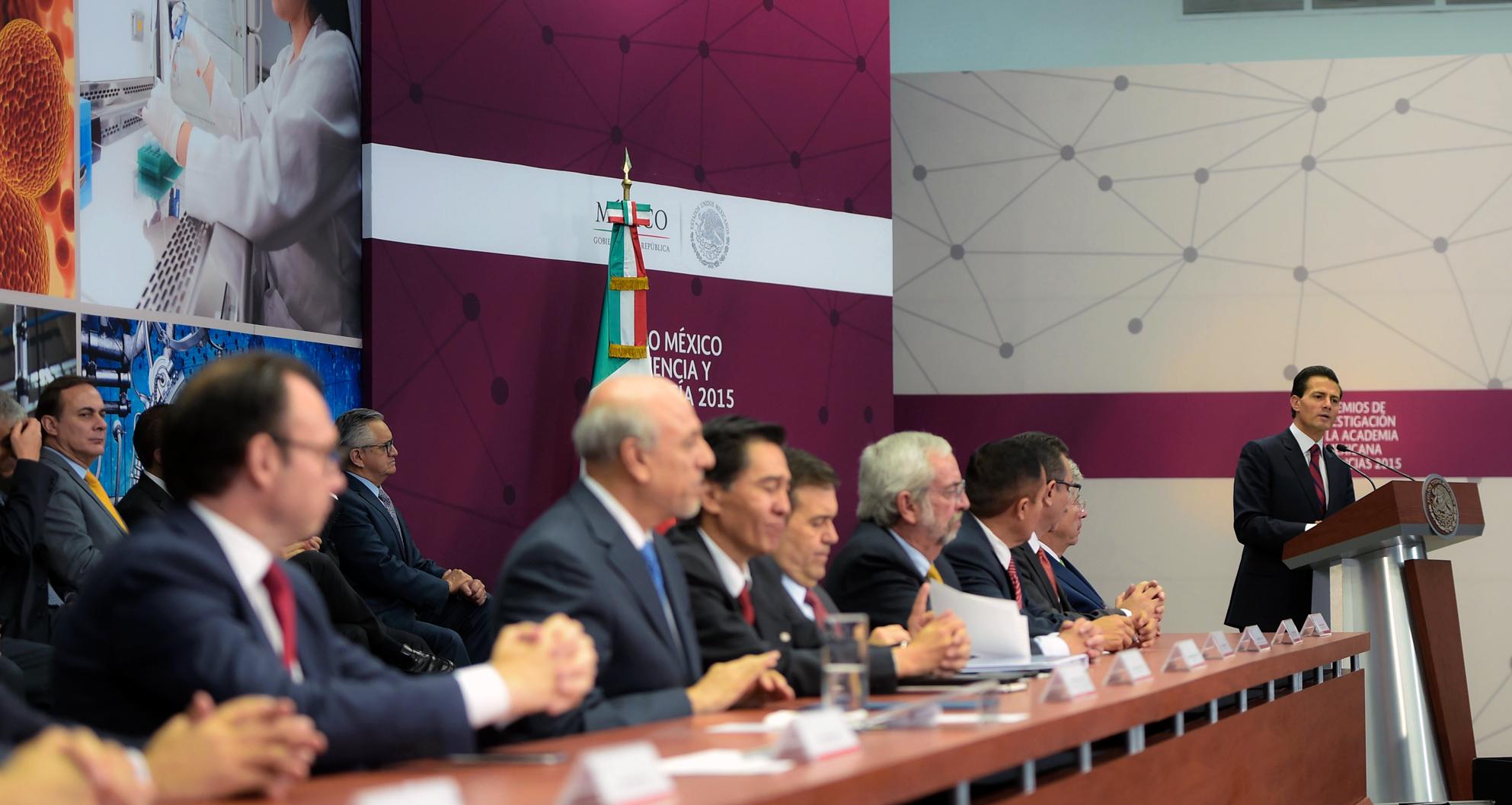 """""""Un país con el tamaño, la riqueza y la apertura de México, necesariamente tiene que ser parte activa de las tendencias globales de innovación y creación de valor""""."""