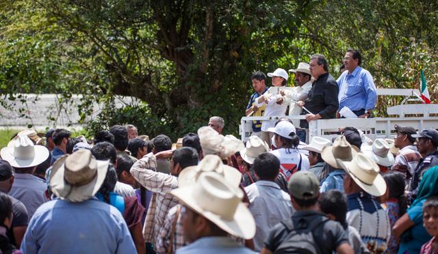 Desde el primer momento de la contingencia por lluvias se ha trabajado en la región de La Montaña en Guerrero