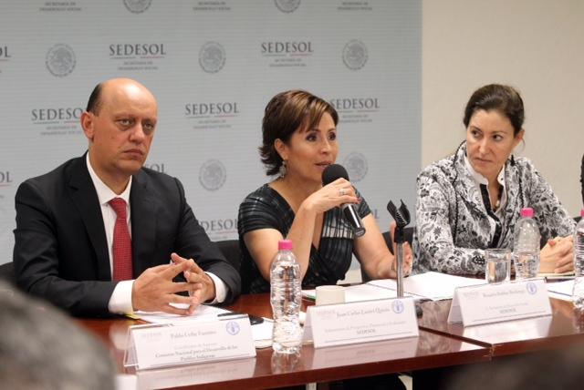 Seminario-Taller  Sedesol-FAO con presencia de representantes de las dependencias del Gobierno de la República y expertos internacionales