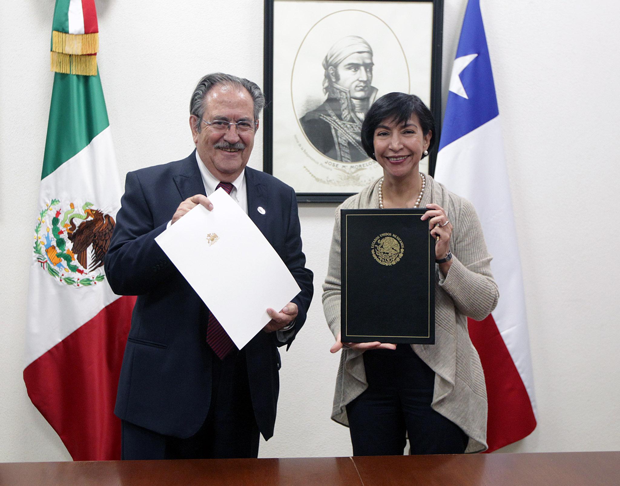Chile y México suscriben acuerdo para compartir sede Diplomática en Etiopía