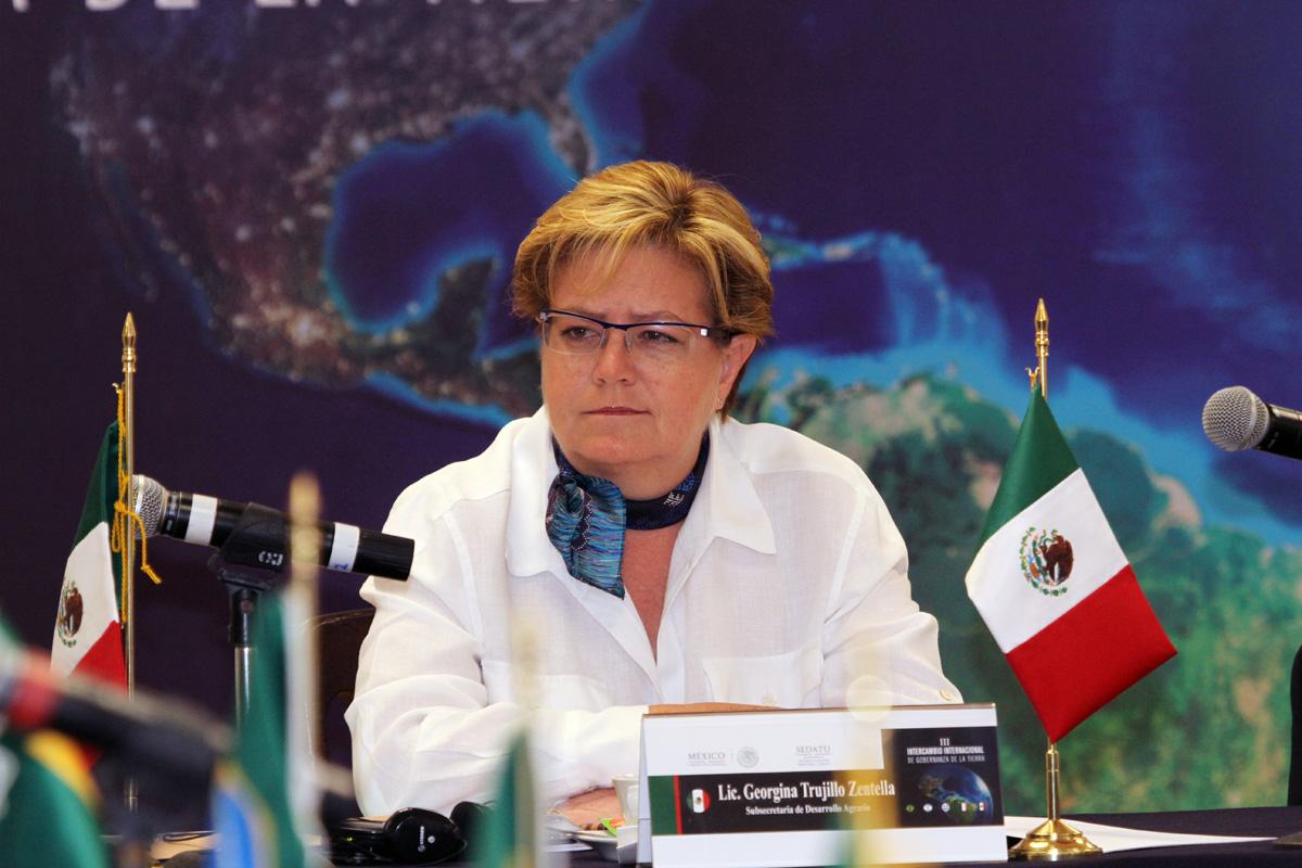 Subsecretaria de Desarrollo Agrario, Georgina Trujillo Zentella.