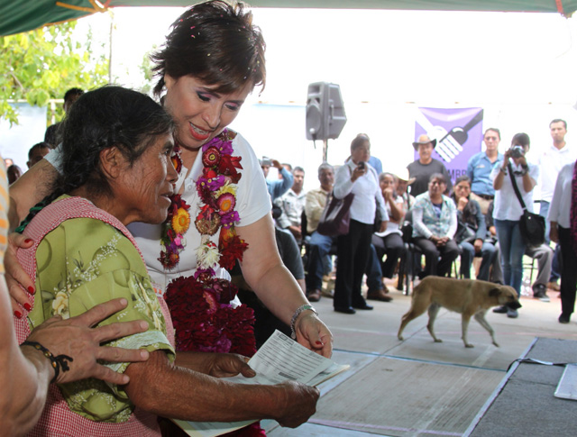 Llega la Cruzada Nacional Contra el hambre a las montañas de Oaxaca