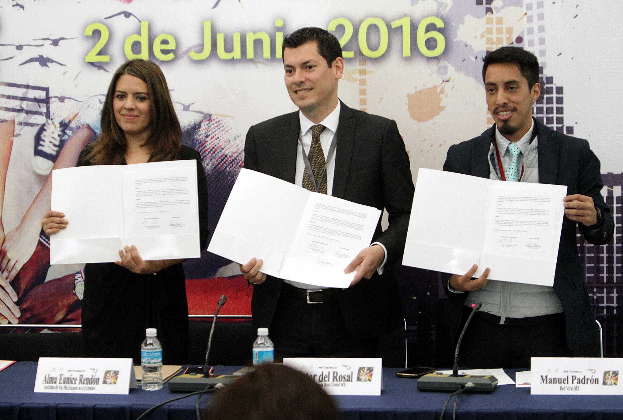 Firman acuerdo de colaboración IME y Red  VIRAL Mx