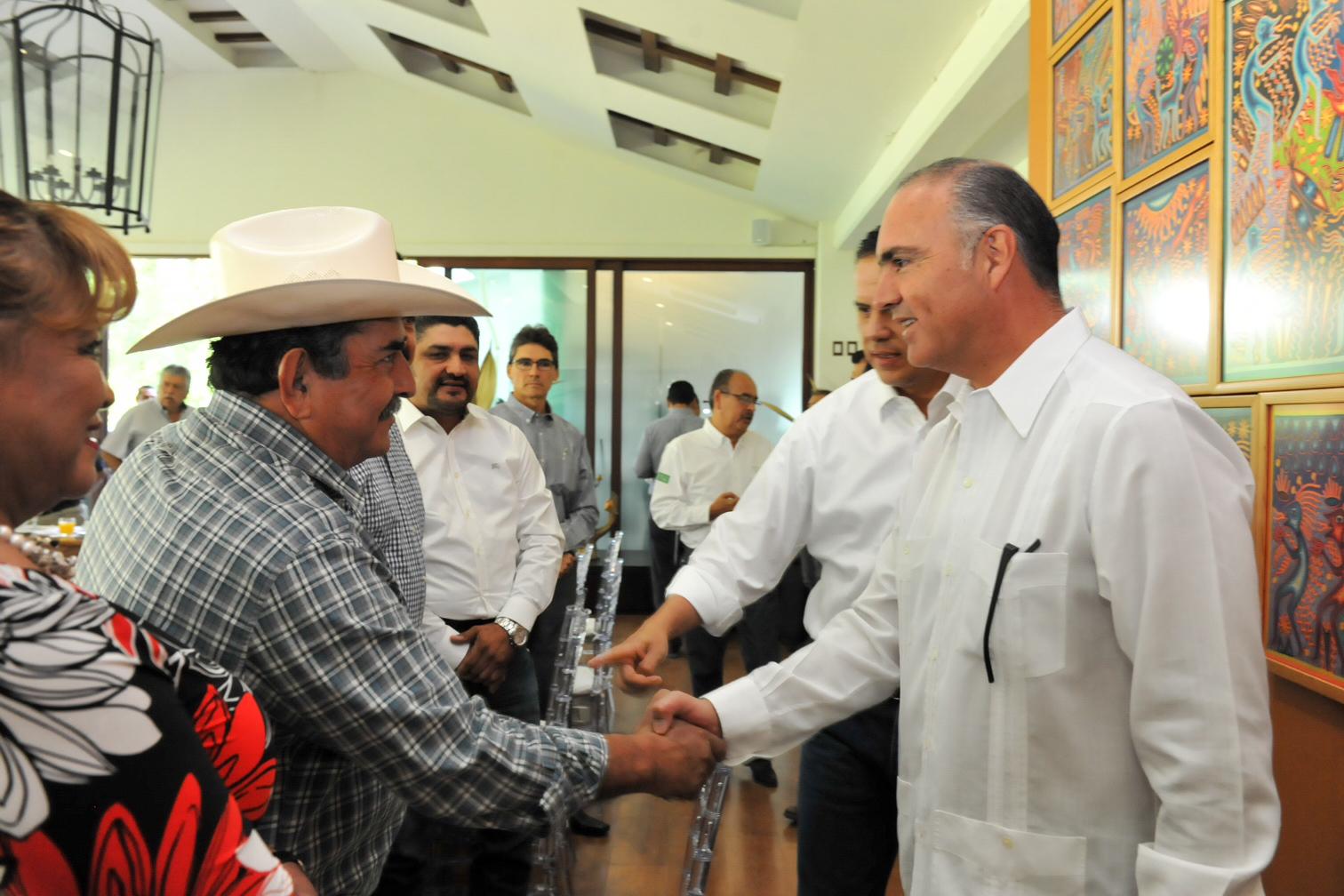 Calzada Rovirosa puntualizó que para el Gobierno de la República no hay otro compromiso más importante que el que les vaya bien a los productores del sector agropecuario y pesquero del país.